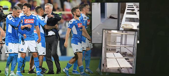Carlo Ancelotti byl šokovaný stavem, v jakém našel interiér stadionu