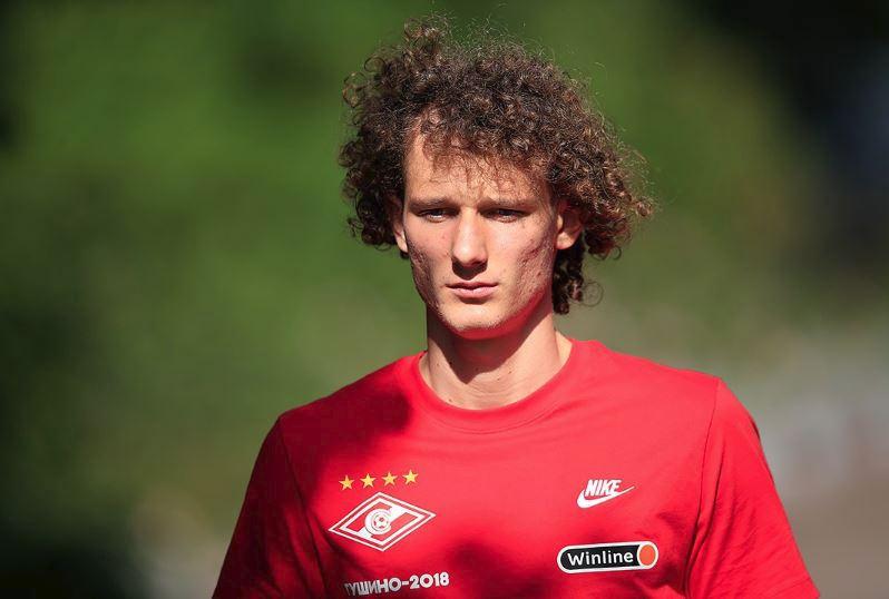 Alex Král na svém prvním tréninku ve Spartaku Moskva