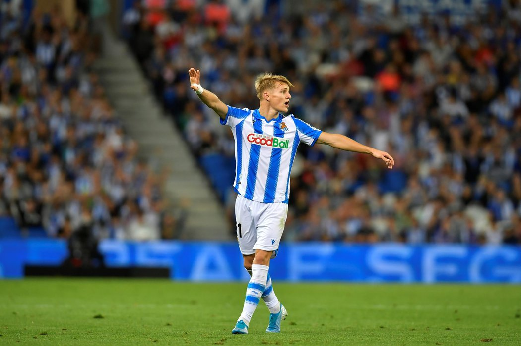 Obrovský talent Martin Ödegaard v duelu s Alavésem