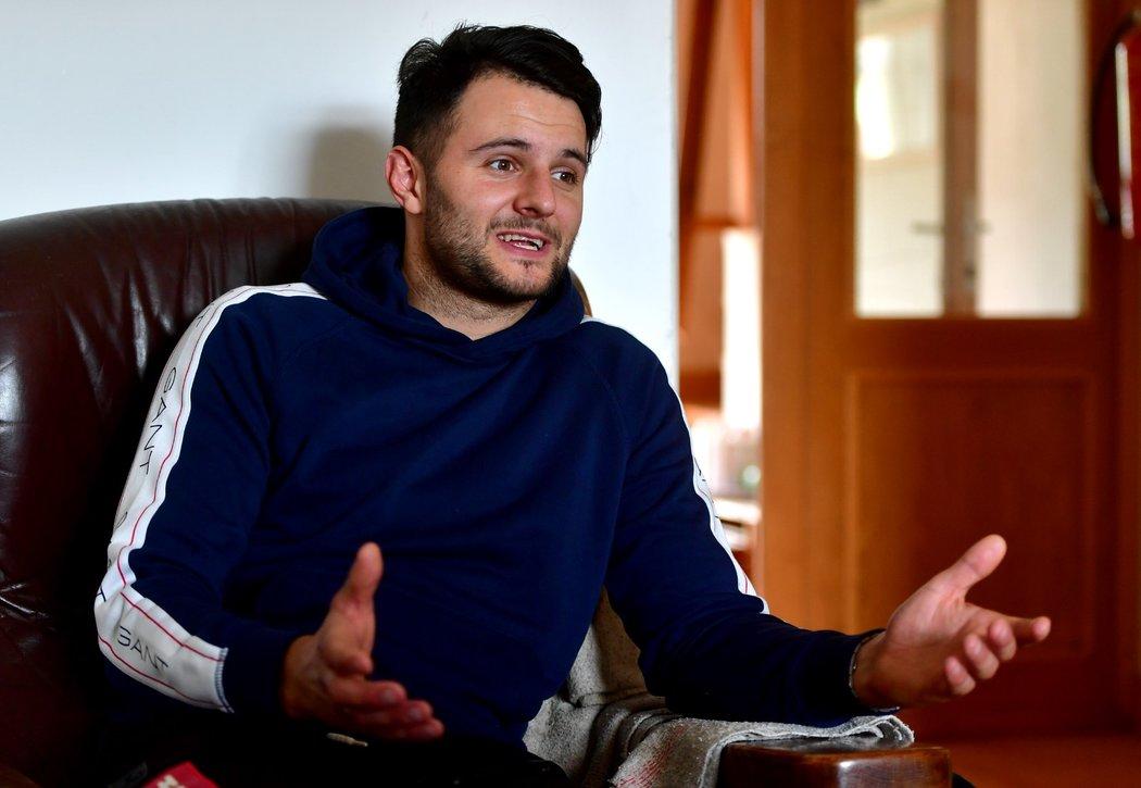 Josef Váňa mladší přibral po konci kariéry 16 kilo a je spokojený