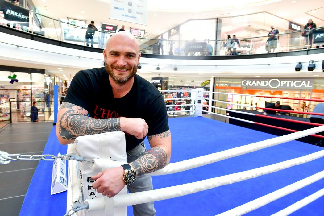 Bývalý boxer Rudolf Kraj