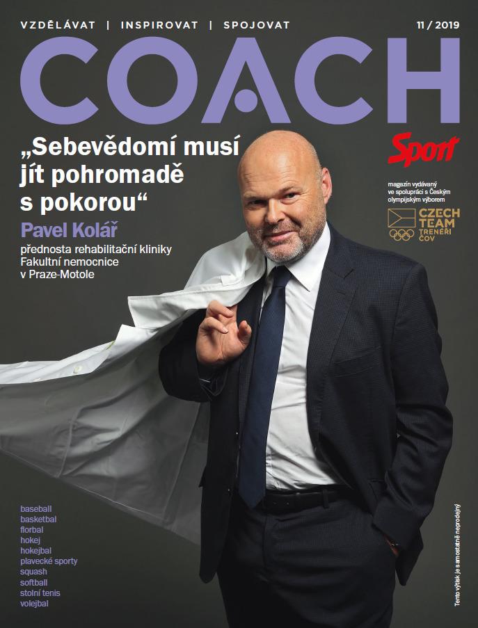 V listopadovém čísle časopisu Coach najdete mimo jiné rozhovor s fyzioterapeutem Pavlem Kolářem