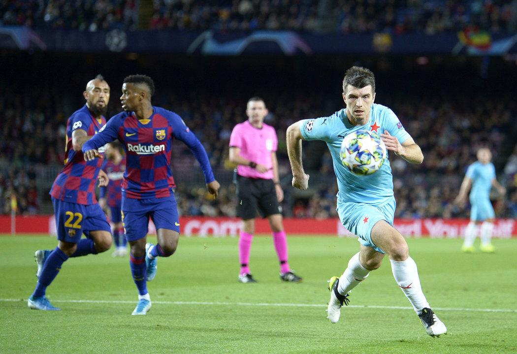 Ondřej Kúdela na Camp Nou
