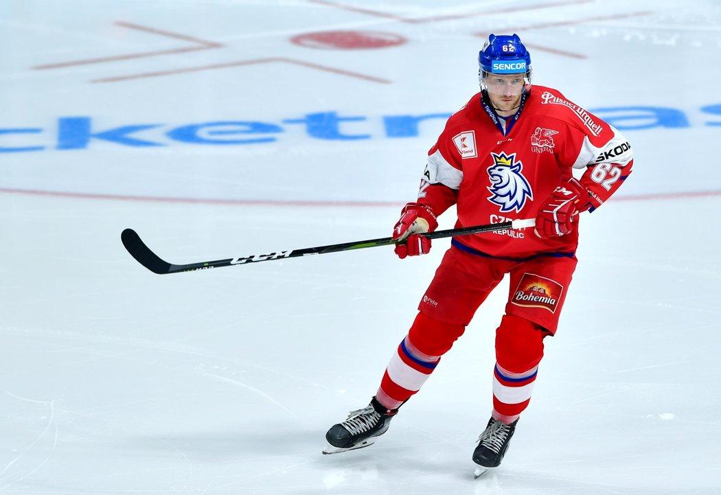 Český obránce Andrej Šustr byl jedním z pilířů národního týmu na Karjala Cupu