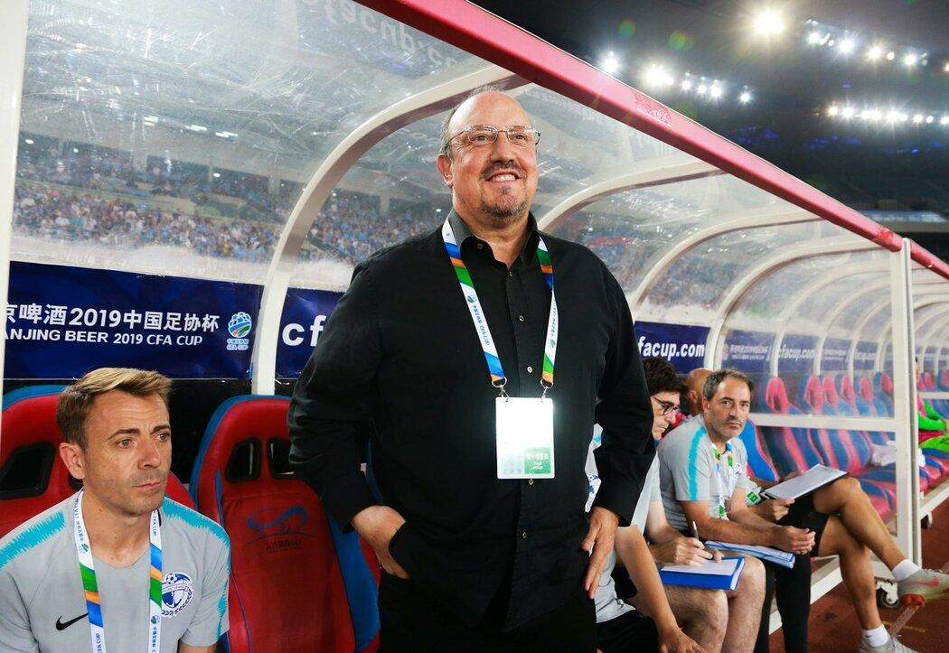 Rafa Benítez má v Dalianu na starost fotbalovou revoluci