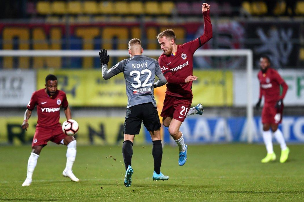 Martin Hašek vstřelil úvodní gól utkání mezi Spartou a Příbramí