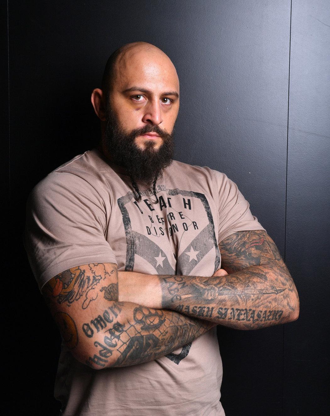 Šampion organizace Oktagon MMA Michal Martínek