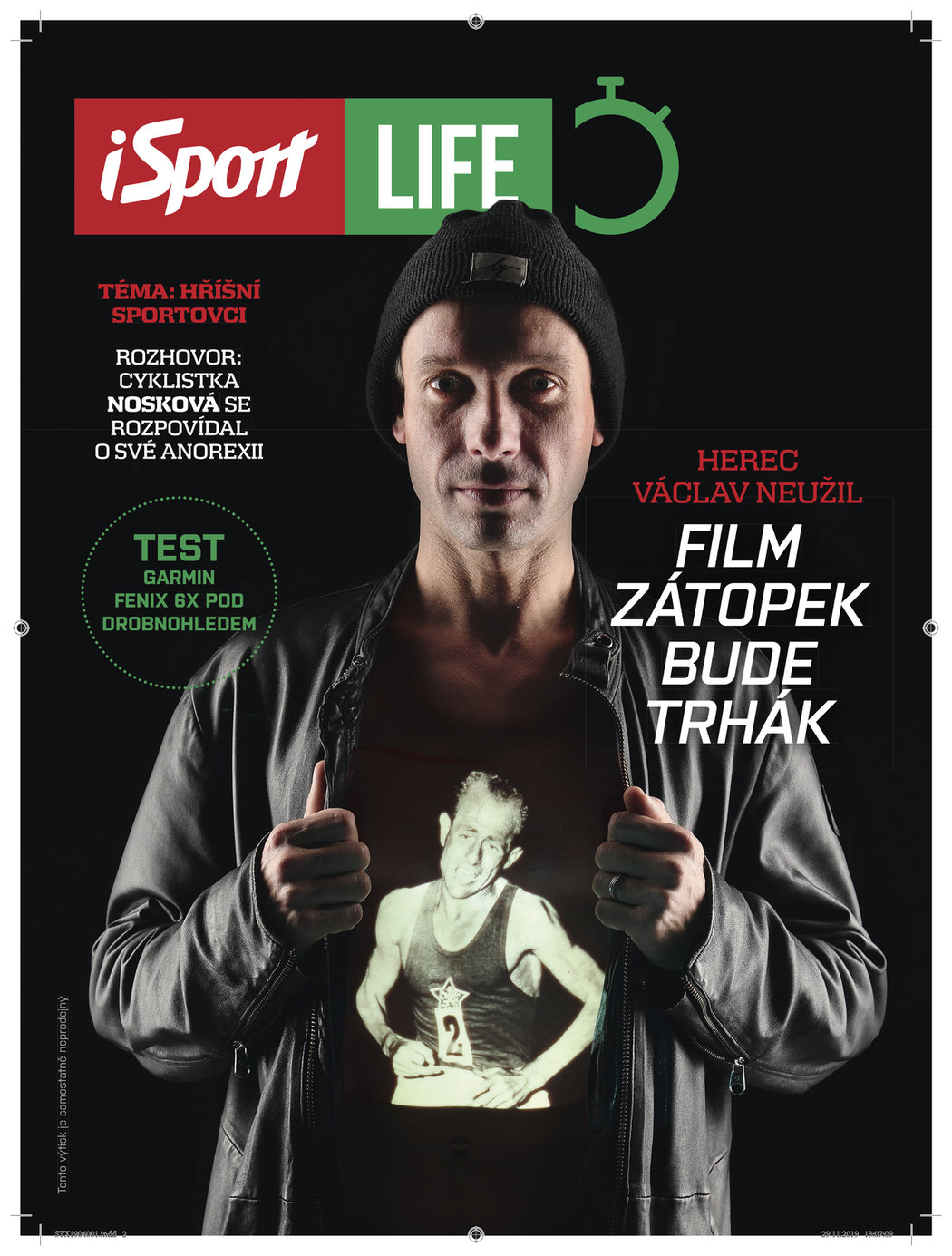 V úterý 10. prosince vychází v deníku Sport magazín iSport LIFE plný skvělého čtení
