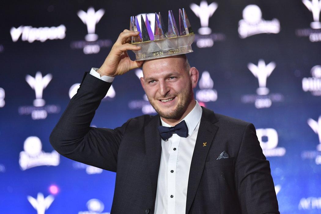 Lukáš Krpálek s korunou pro Sportovce roku  2019