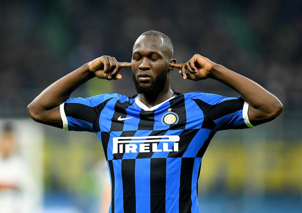 Romelu Lukaku pomohl Interu Milán