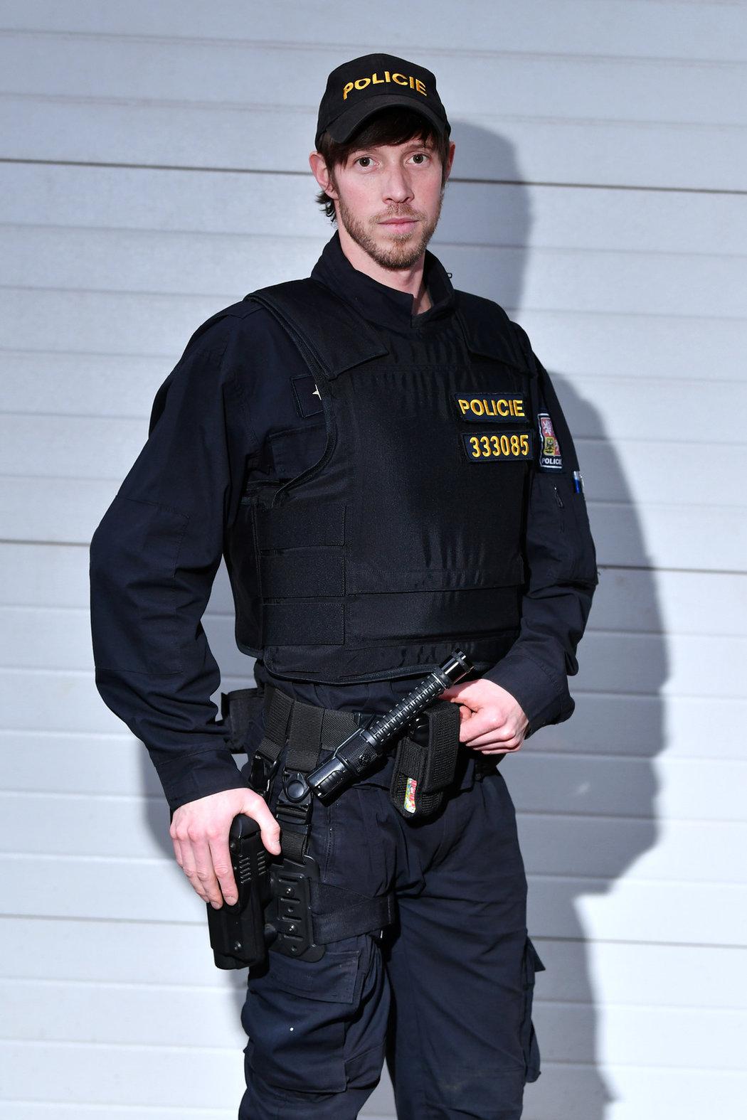 Jaroslav Soukup po skončení biatlonové kariéry pracuje u policie