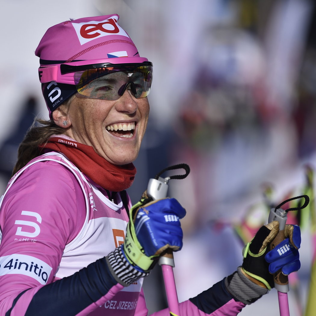 Česká běžkyně na lyžích Kateřina Smutná skončila pátá