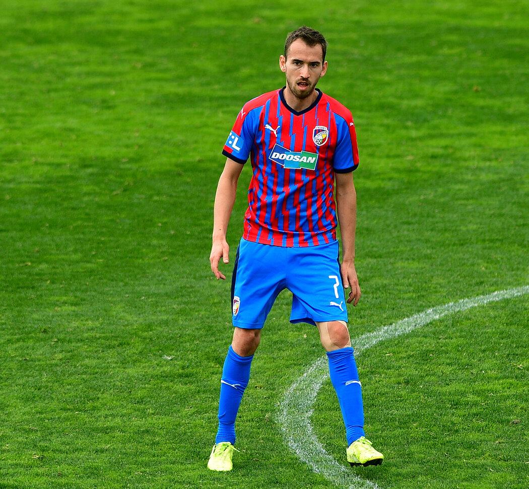 Tomáš Hořava v přípravném klání proti Krasnodaru
