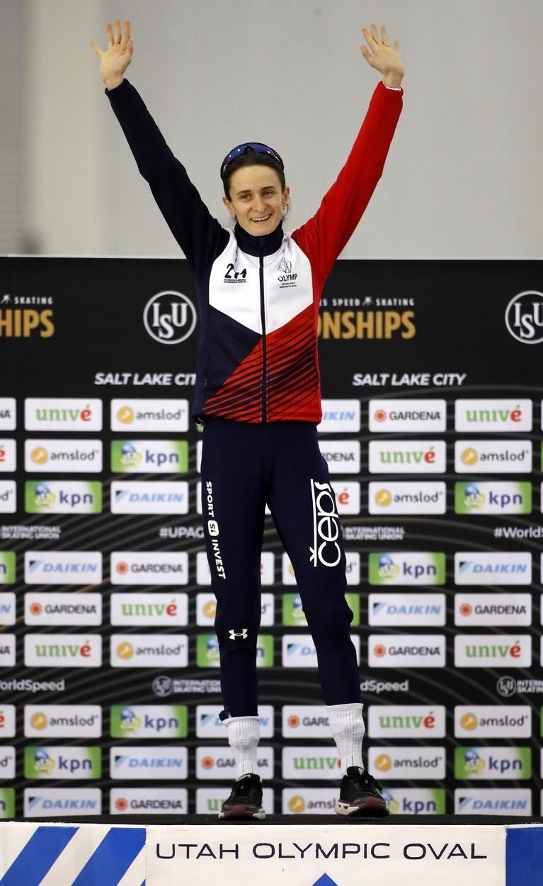 Martina Sáblíková obhájila zlato v závodě na 3000 m
