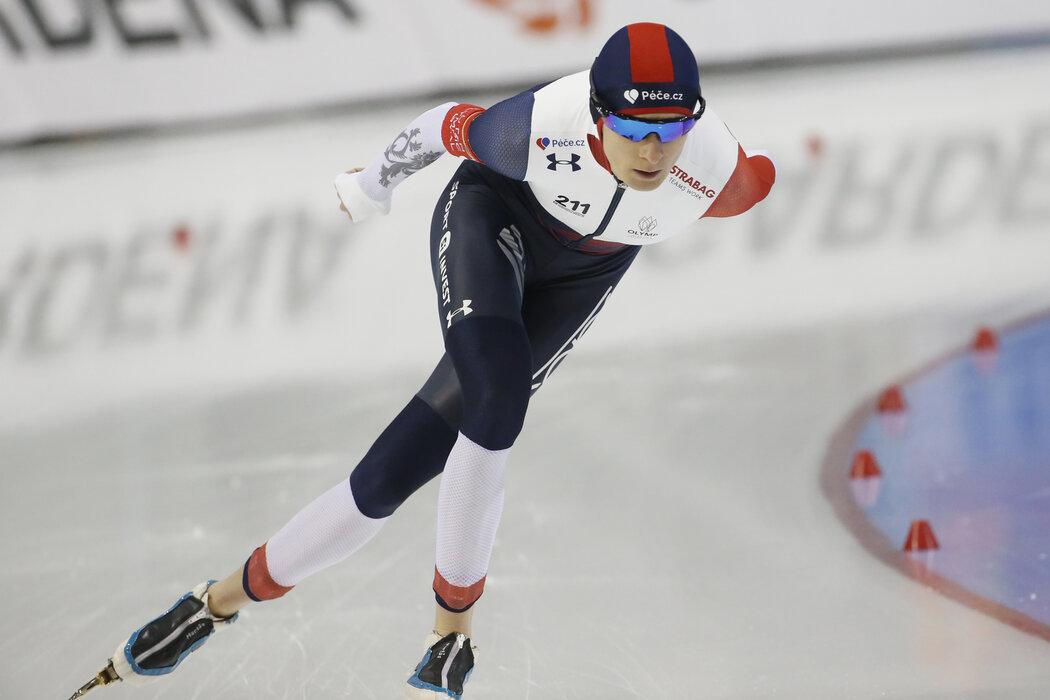 Martina Sáblíková na mistrovství světa v Kanadě