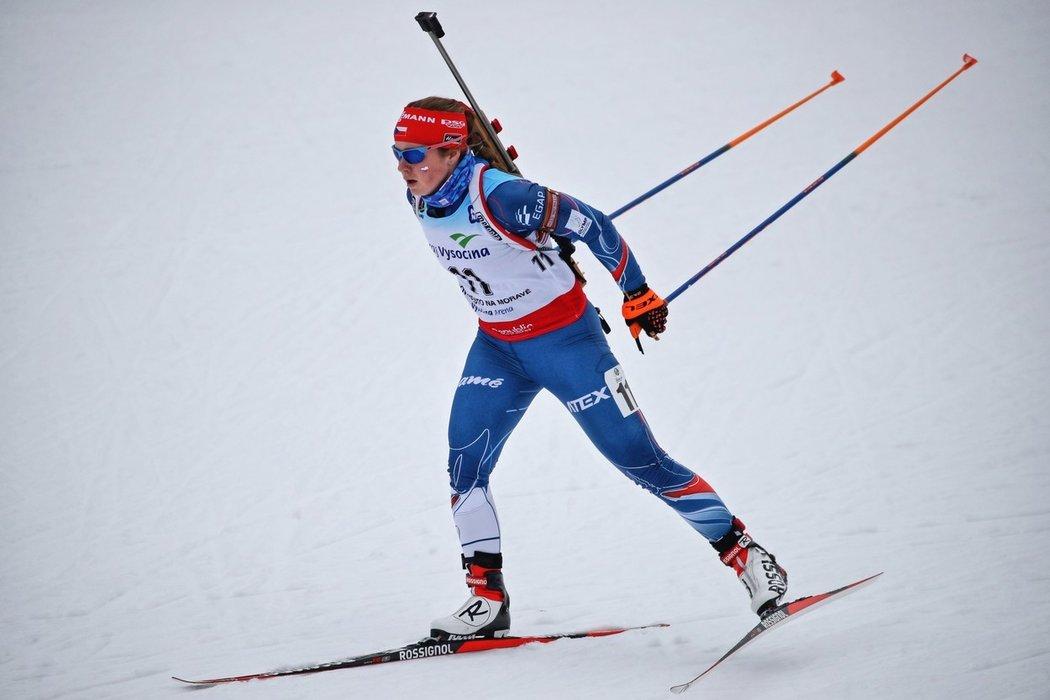 Tereza Vinklárková si odbyla premiéru na mistrovství světa