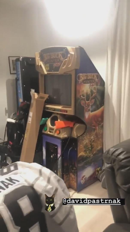 Hrací automat, který má »Pasta« doma