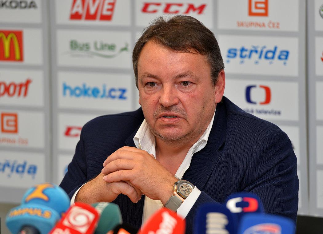 Šéf českého hokeje Tomáš Král