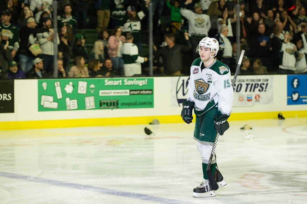 Bryce Kindopp je kapitánem v Everettu