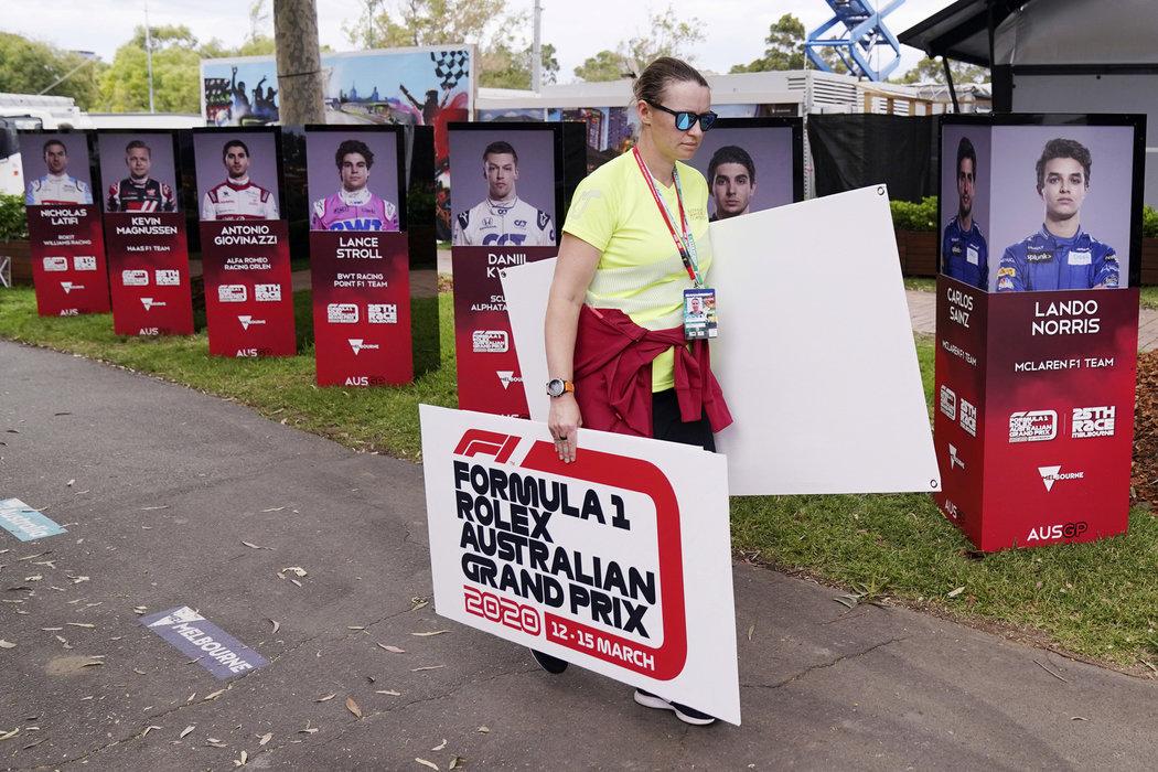 Nová sezona formule 1 nezačne kvůli empidemii koronaviru v Austrálii podle plánu