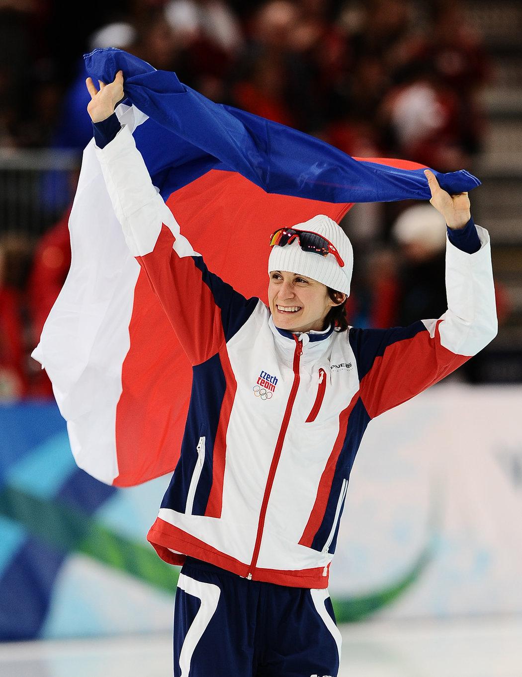 Martina Sáblíková byla největší českou hvězdou olympiády ve Vancouveru
