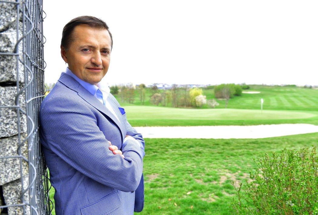 Podnikatel Petr Dědek