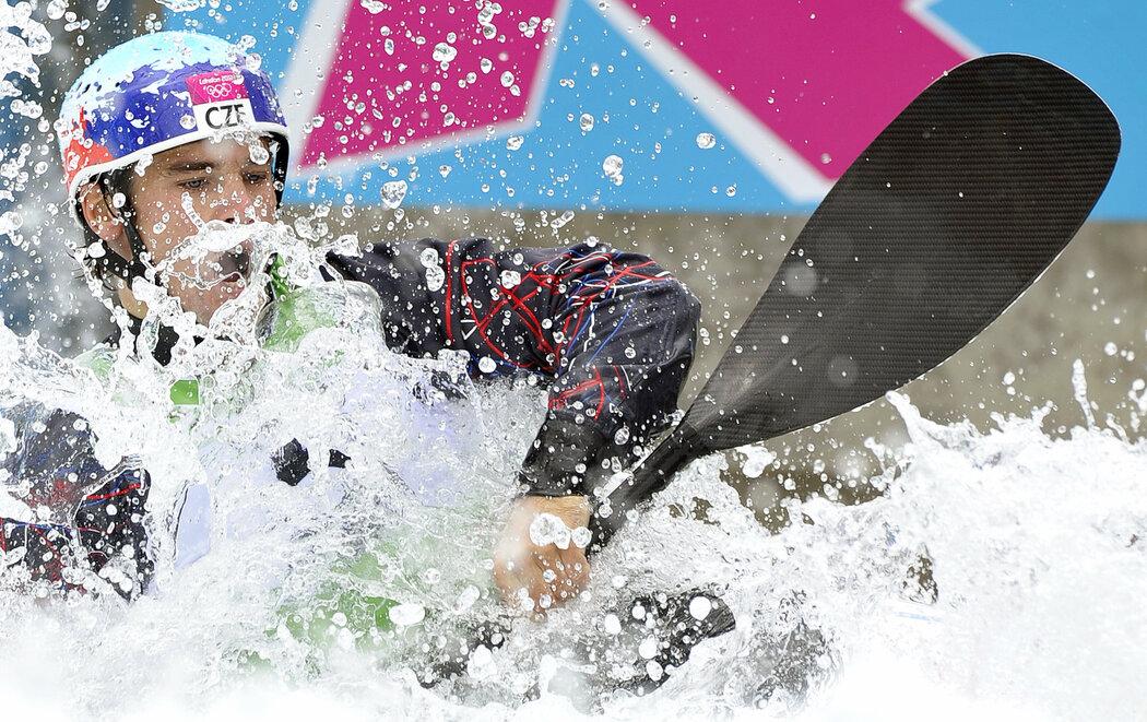 Vodní slalomář Vavřinec Hradilek si vyjel v olympijském kanále stříbro