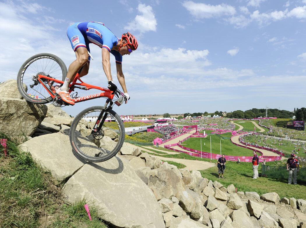 Biker Jaroslav Kulhavý na cestě za olympijským zlatem v Londýně