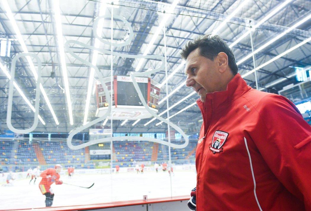 Vladimír Růžička povede Mountfield HK od nové sezony jako hlavní trenér