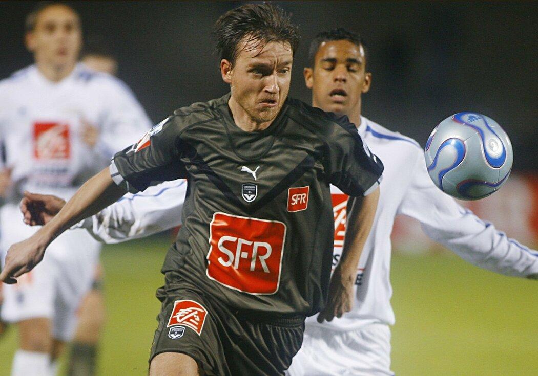 Vladimír Šmicer jako hráč Bordeaux