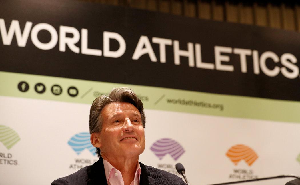 Šéf světové atletiky Sebastian Coe