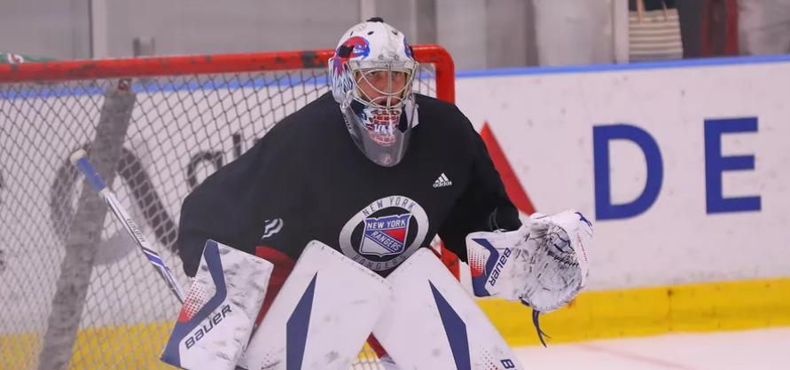 Kanadský gólman Tyler Wall podepsal dvouletý nováčkovský kontrakt s New Yorkem Rangers.