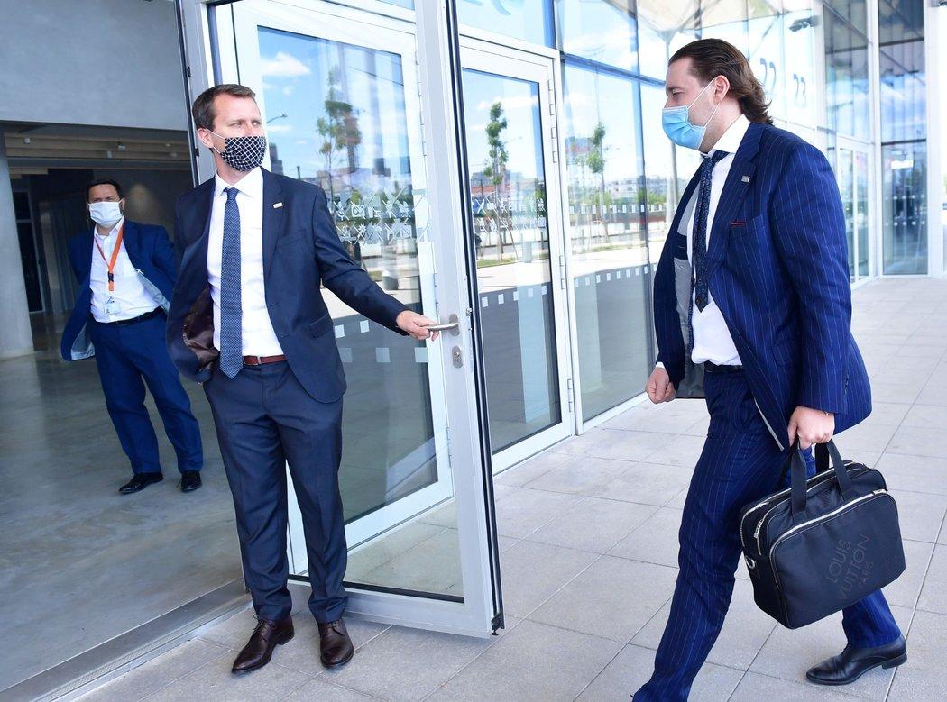 Dušan Svoboda před začátkem Ligového grémia LFA