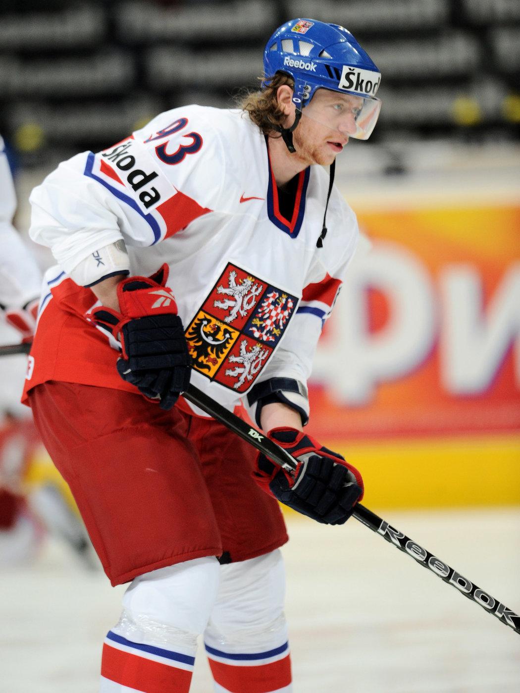 Jakubovi Voráčkovi bylo na zlatém MS 2010 teprve dvacet