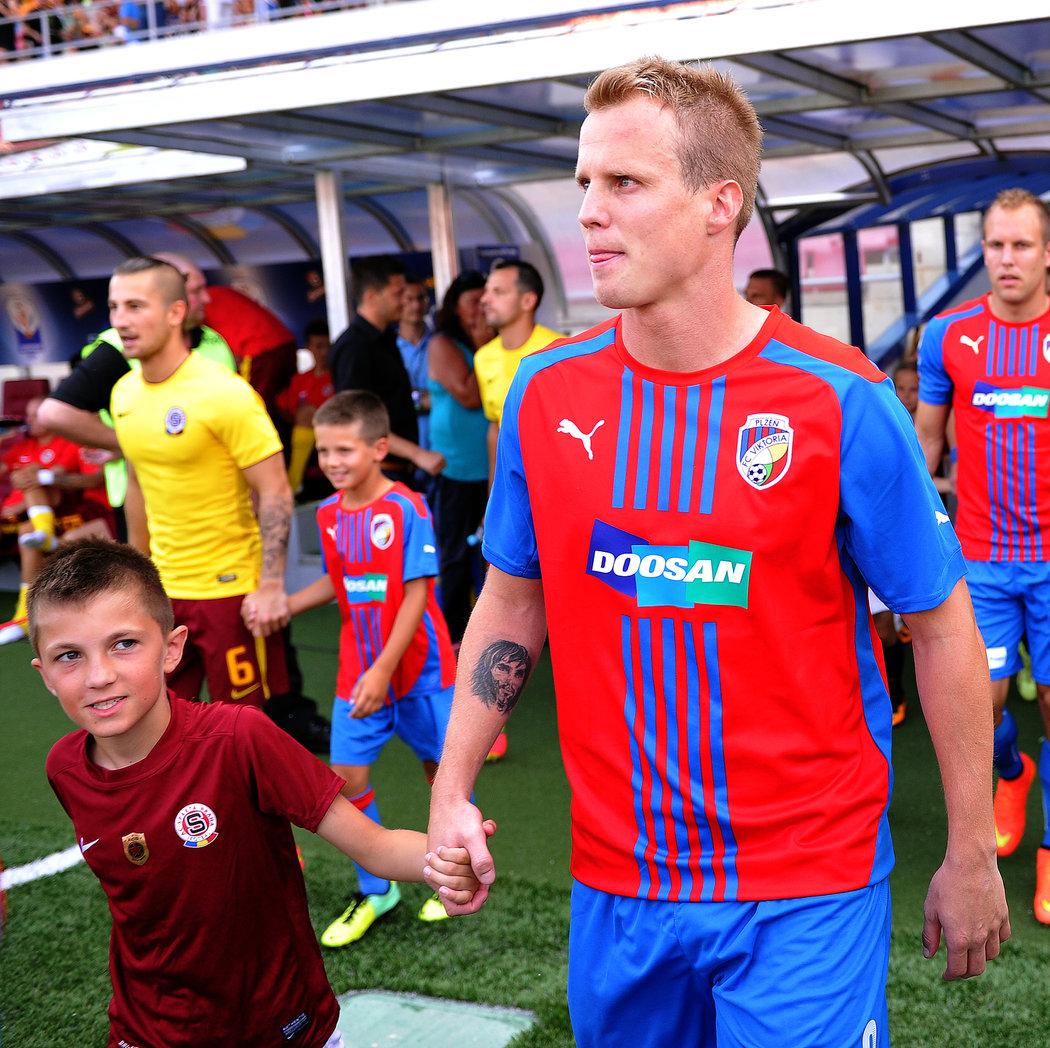 V sezoně 2013/14 hrála Plzeň Superpohár proti Spartě, na Letné nechyběl ani David Limberský