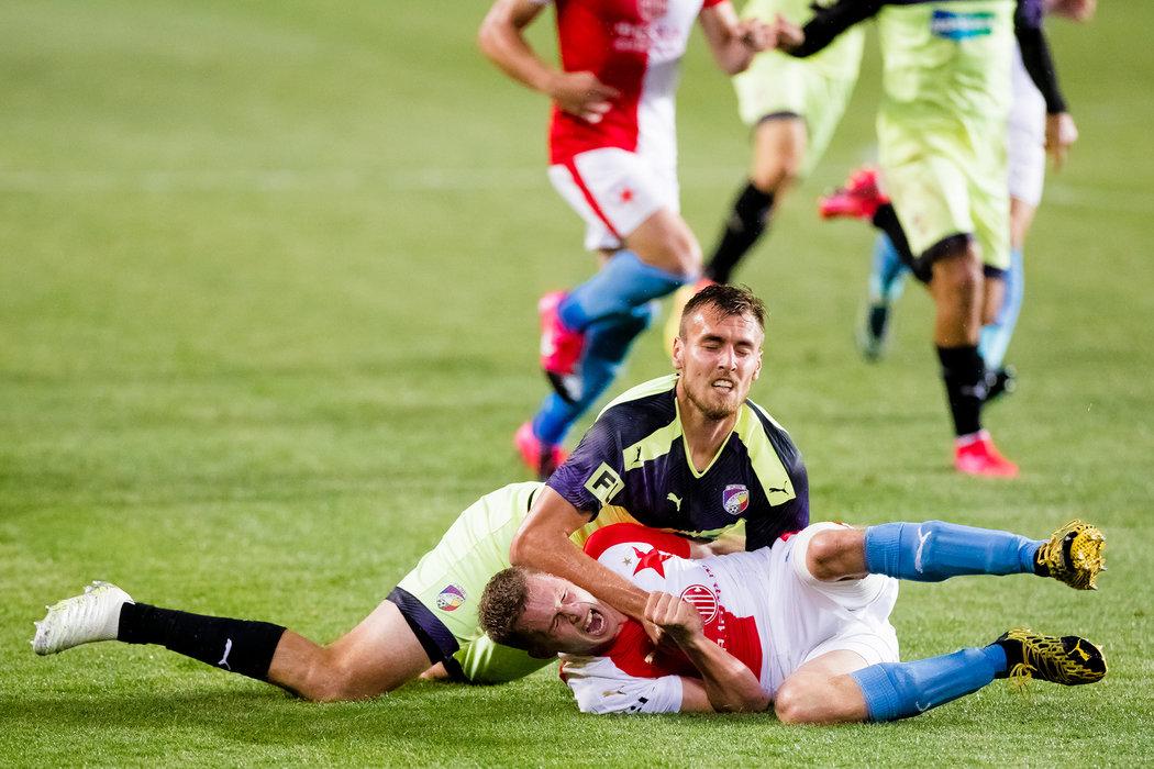 Se žlutými kartami má problém třeba útočník Plzně Tomáš Chorý