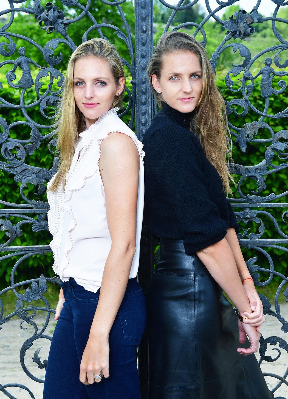 Slavné sestry Karolína (vpravo) a Kristýna Plíškovy na společném focení pro Sport magazín