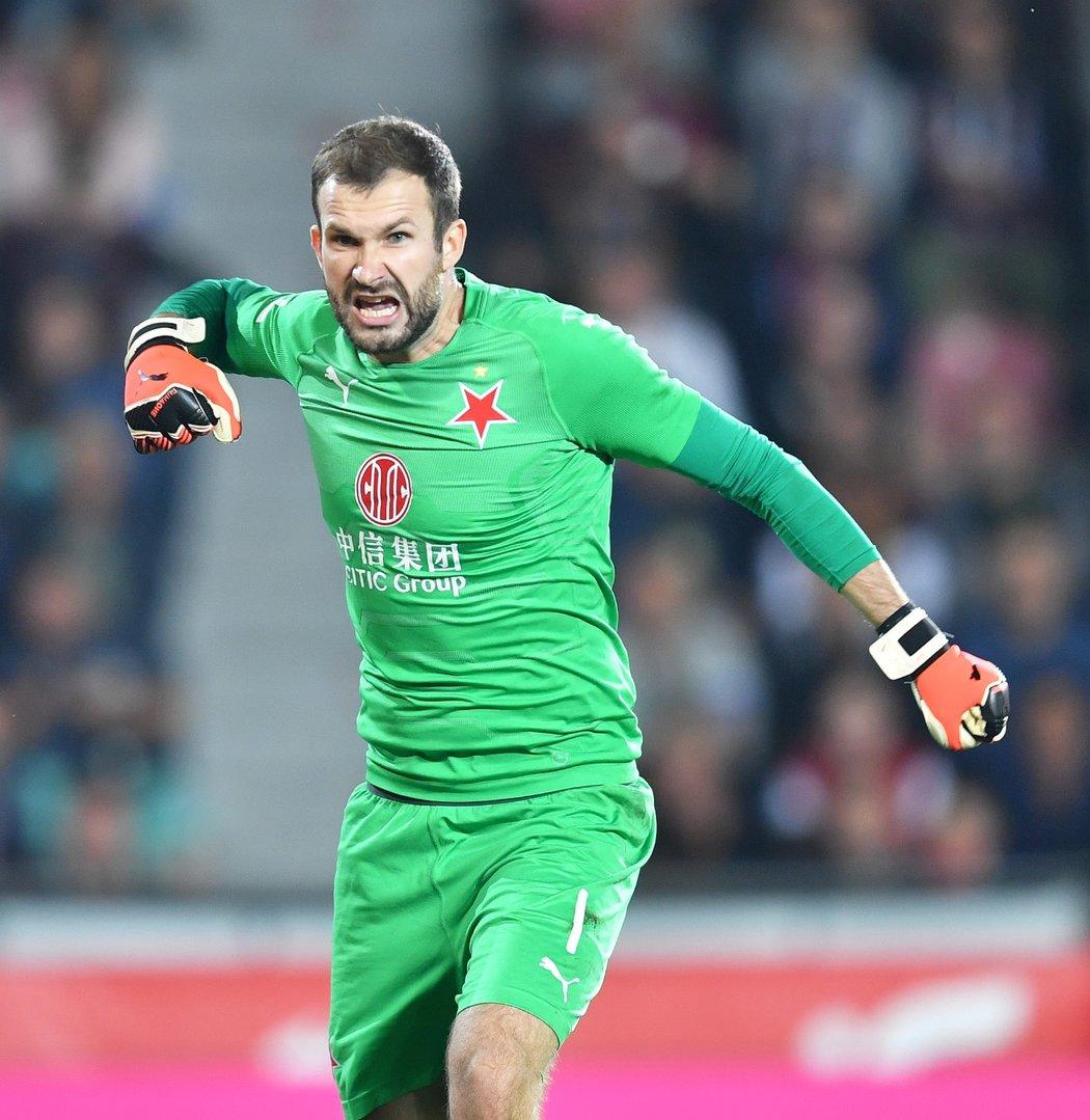 Gólman Slavie Ondřej Kolář překonal rekord české i československé ligy v počtu vychytaných nul v sezoně