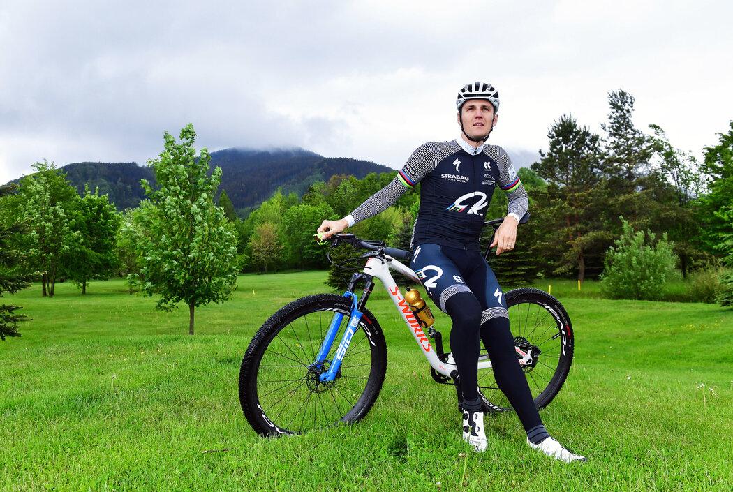 Oblíbenou cyklistickou destinací Jaroslava Kulhavého jsou Beskydy