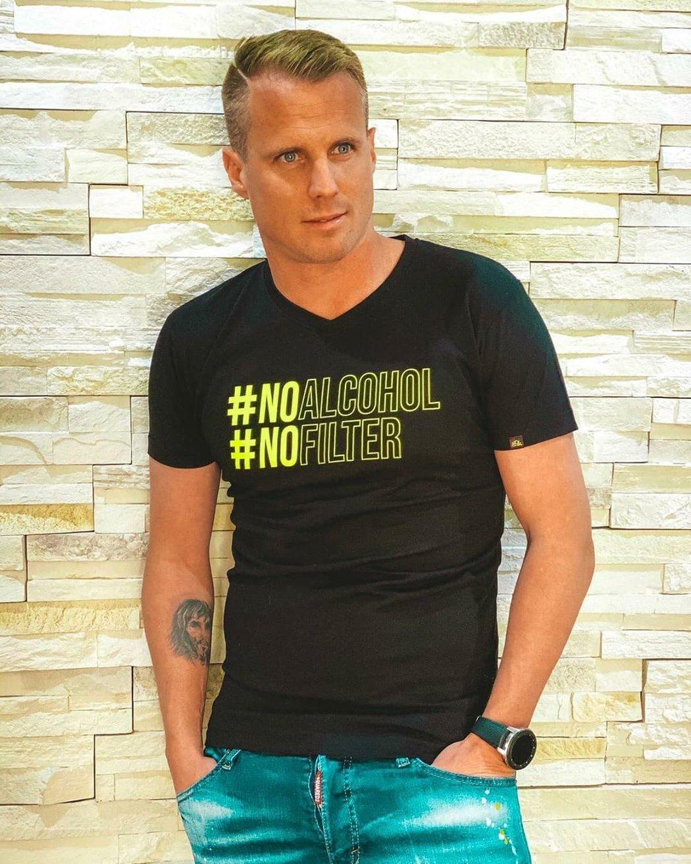 David Limberský představil svou kolekci triček