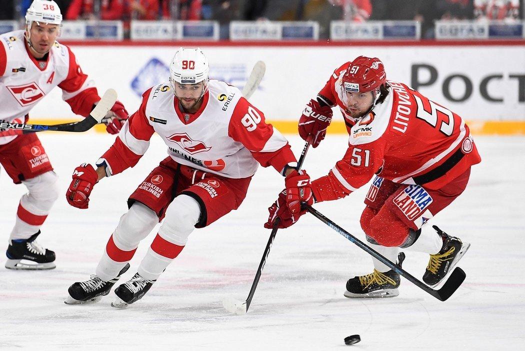 V minulé sezoně působil Nikita Filatov také v dresu Spartaku Moskva
