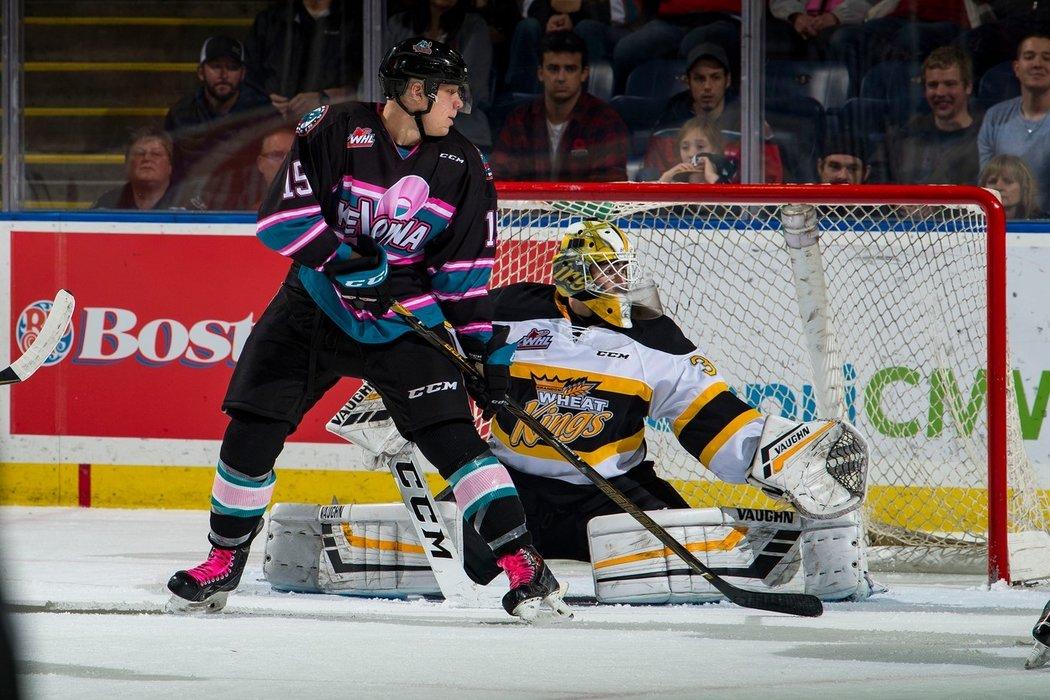 Český brankář Jiří Patera podepsal v NHL tříletou nováčkovskou smlouvu s týmem Vegas Golden Knights.