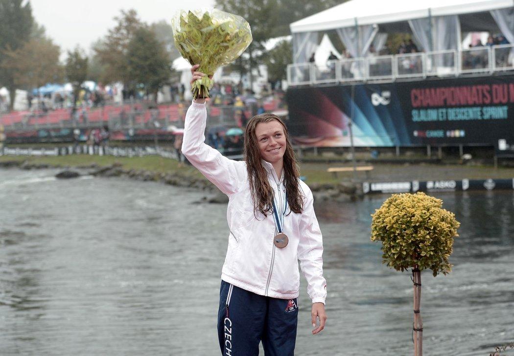 Amálie Hilgertová, nastupující hvězda vodního slalomu v Česku