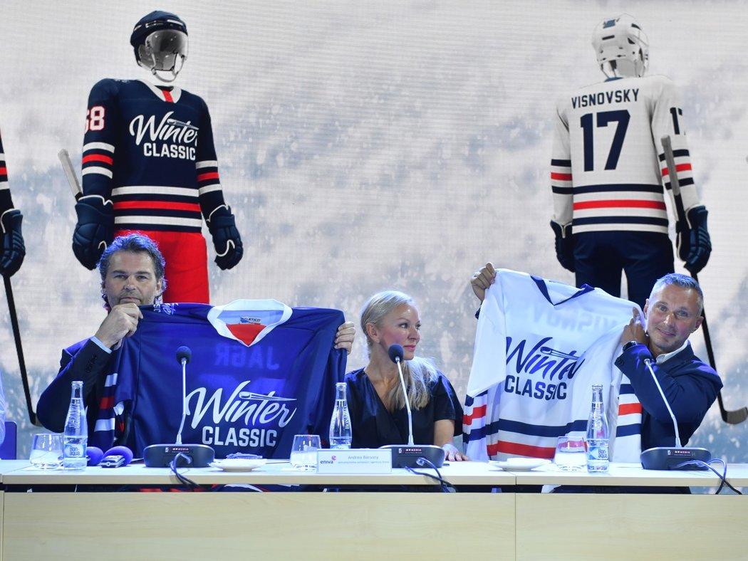 Za účasti Jaromíra Jágra jako spoluorganizátora byl představen program Winter Classic 2020 ve Špindlerově Mlýně