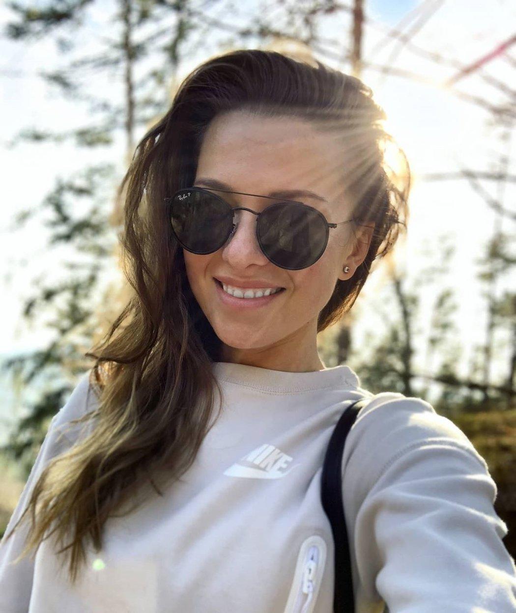 Reportérka a modelka Inna Puhajková