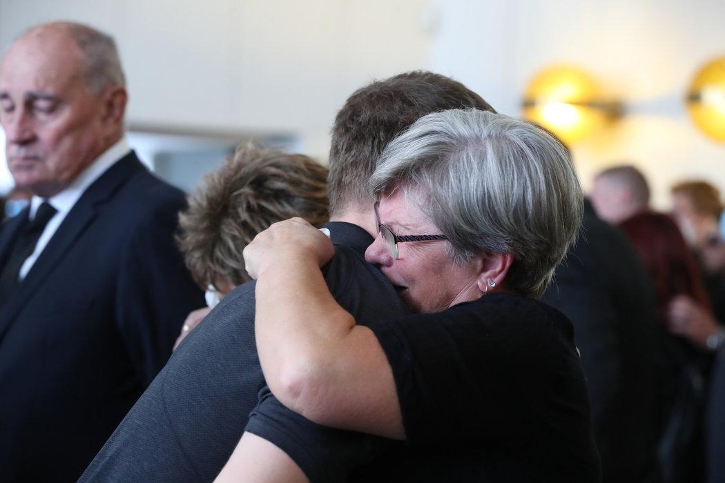 Rodina Ondřeje Buchtely přijímala řadu kondolencí