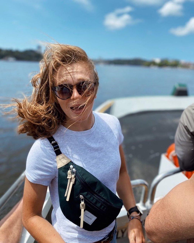 Amálie Hilgertová má vodácké geny. Její tetou je dvojnásobná olympijská medailistka Štěpánka Hilgertová.