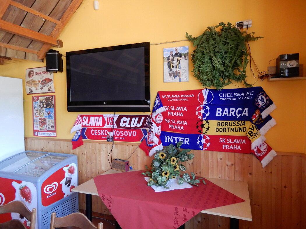 Malá síň slávy odchovance Slovanu