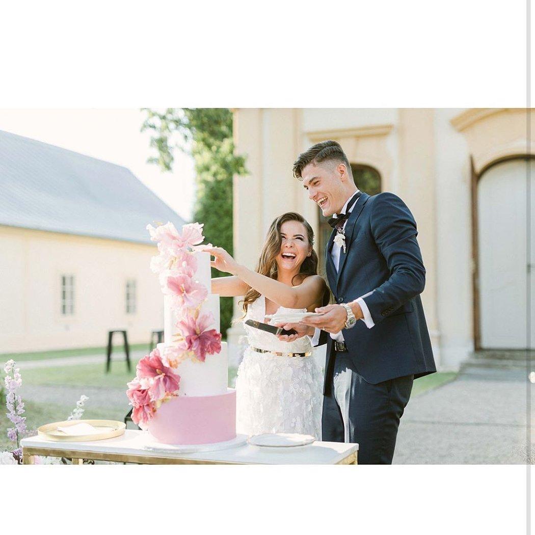 Manželé Hana a Patrik Schickovi