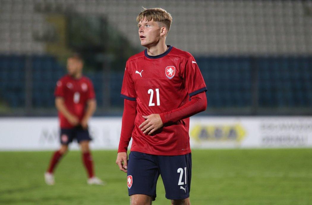 Záložník české jednadvacítky Pavel Šulc se zapsal mezi střelce v utkání proti San Marinu